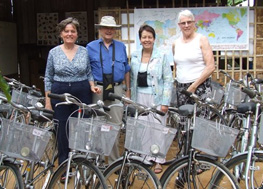 Patti Lee, Neil Burnham, Barbara Seagram and Marney Charles