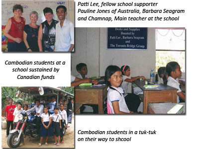 Cambodian Schools Collage